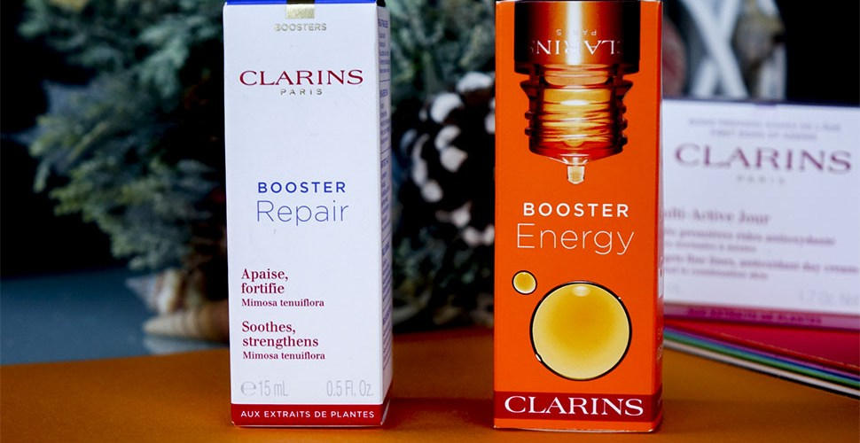 CLARINS skin boosters