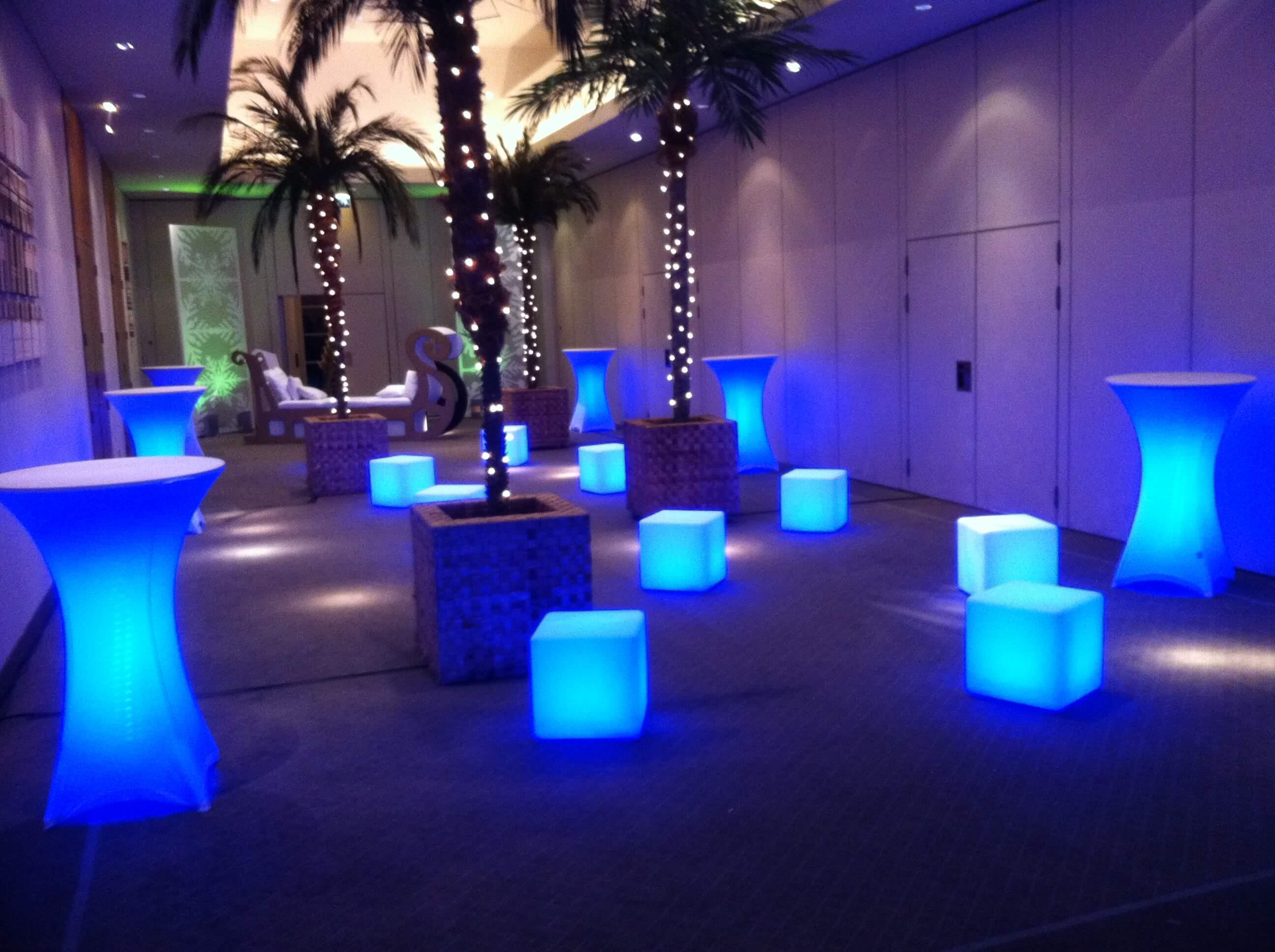 LED Furniture  LED Furniture Rentals  Grimes