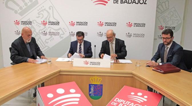 Un nuevo espacio para la investigación en Villanueva de la Serena: la Diputación firma un convenio con FundeSalud