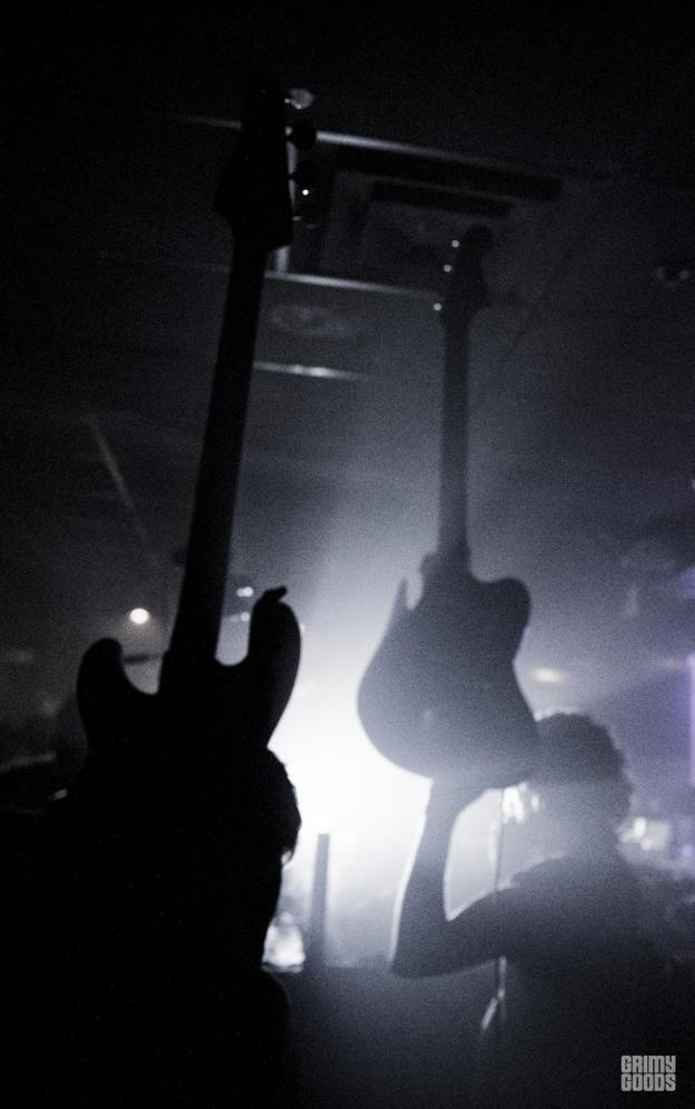 A Place to Bury Strangers,  The Echoplex, photo by Wes Marsala