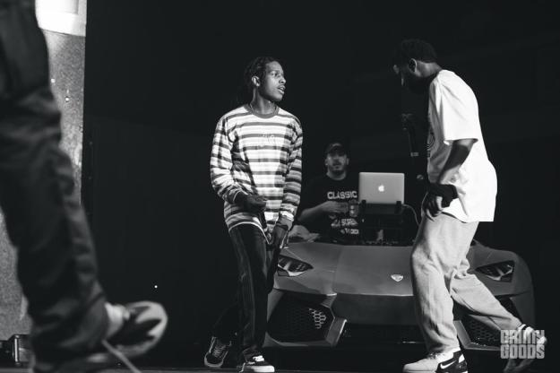 A$AP Mob at Shrine Expo Hall by Andrew Gomez