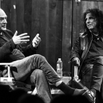 Alice Cooper and Shep Gordon, The Bootleg Theater, photo by Wes Marsala