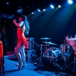 Le Butcherettes at The Moroccan Lounge- Photo By ZB Images