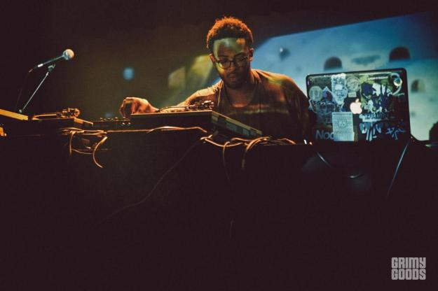 Knxwledge at The Echoplex photos by ceethreedom