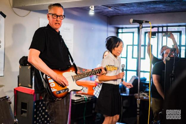 The Dils at The Grand Star Jazz Club Photo by ZB Images