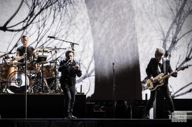 U2, The Rose Bowl, photo by Wes Marsala