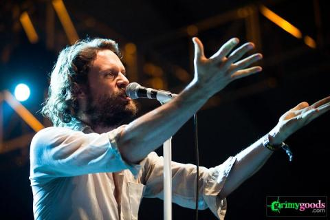 Father John Misty at the glass house