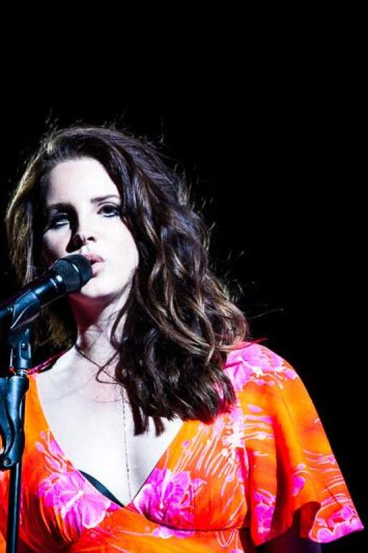 Lana Del Rey coachella photos