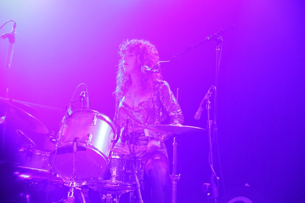 Deap Vally with Jjuujjuu, Death Hymn Number 9, Mystic Braves, and Raw Geronimo at The Glass House- 9/19/2013