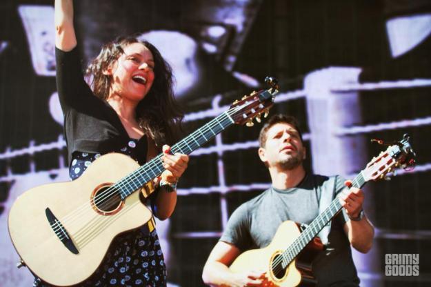 Rodrigo y Gabriela Kaaboo music fest