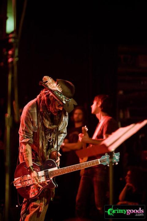 Johnny Depp Guitar Photos