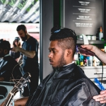 Mountain Dew gives hair cuts shot by Maggie Boyd