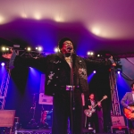 Charles Bradley & his Extrodinaries at NPR showcase shot by Maggie Boyd