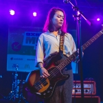 Mitski at NPR showcase shot by Maggie Boyd