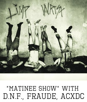 Win Tickets to Limp Wrist at the Echo – December 28, 2012