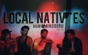 Local Natives hummingbird album cover art