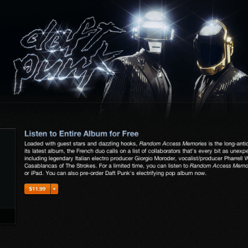 Daft Punk Random Access Memories — Stream Entire Album