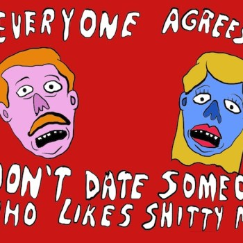 Grimy Cartoon- dating people who like shitty music