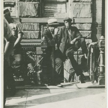 Jay-Z Time Travels to 1939 Photo Harlem New York