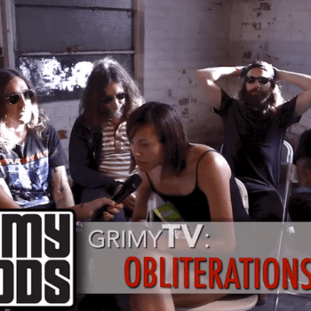 Grimy TV Interview with Obliterations