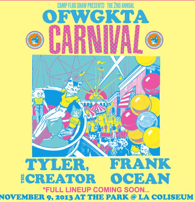 OFWGKTA Carnival at L.A. Coliseum – Nov. 9