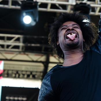 Danny Brown at Rock THE Bells