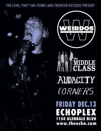 The Weirdos Flyer