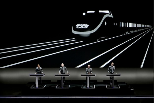 Kraftwerk  Walt Disney Concert Hall photos