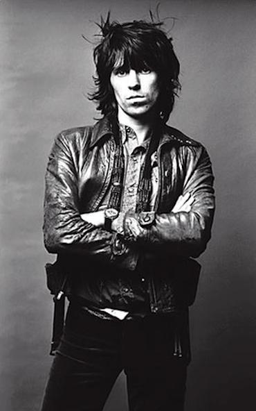 keith richards leather jacket