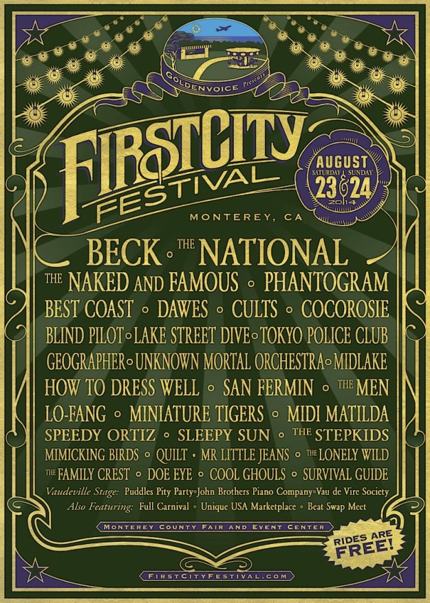 First City Festival line up 2014
