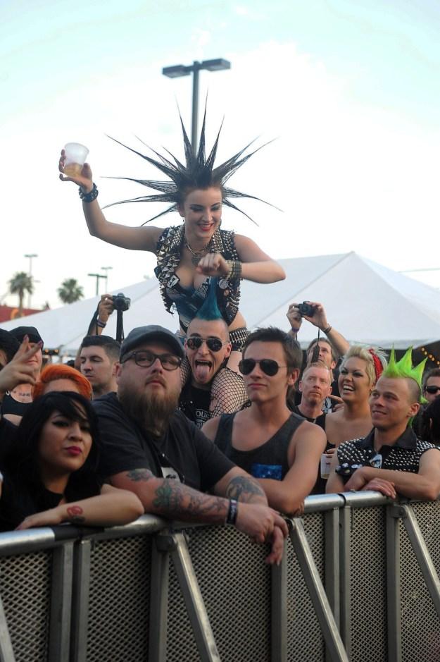 Angelic Upstarts Punk Rock Bowling Photos