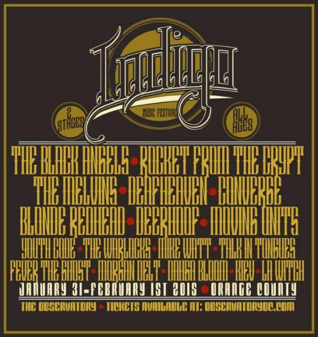 Indigo Music Fest Flyer