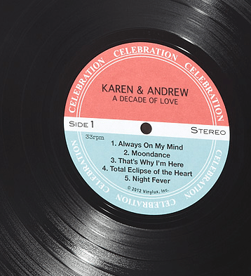 PERSONALIZED-LP-RECORD