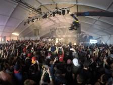 Crowd inside final day of FADER Fort. #GoProMusic