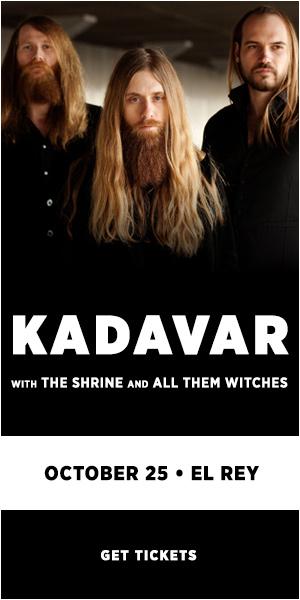 10/25 – Kadavar @ El Rey: