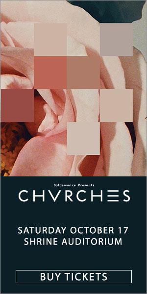 CHVRCHES AT SHRINE