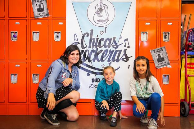 Chicas Rockers Website Photo