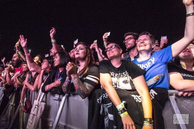 Morrissey at FYF Fest --Photo by Jazz Shademan