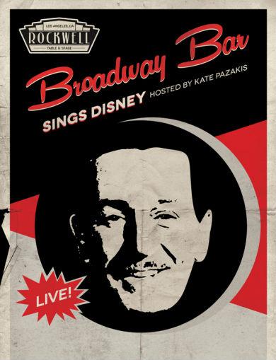 Broadway Sings Disney Flyer
