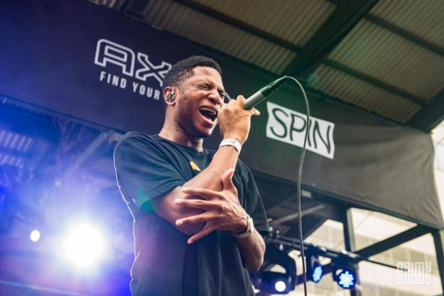 Gallant at John Legend SXSW Showcase shot by Maggie Boyd