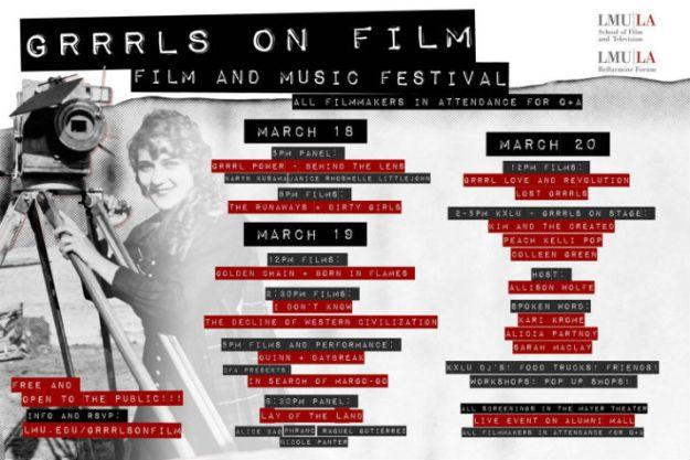 Grrrls On Film Poster photo
