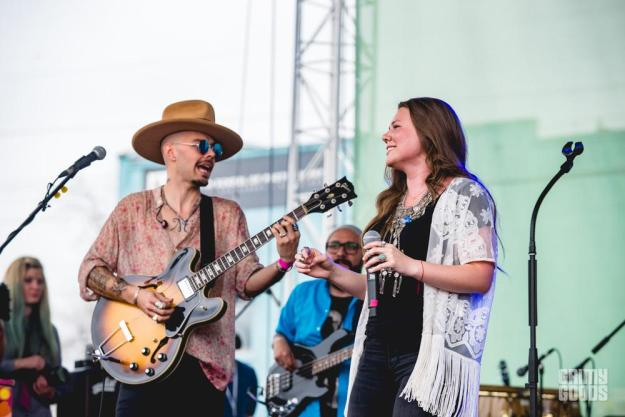 Jesse & Joy at Spotify House