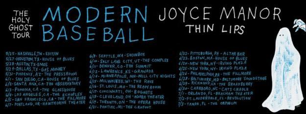 Modern Baseball Tour Dates photo