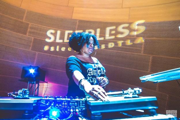 DJ Mona Lisa Sleepless at Walt Disney Concert Hall