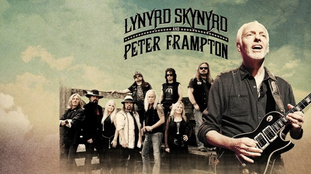 Lynyrd Skynyrd and Peter Frampton photo