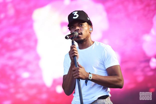 Chance The Rapper at Outside Lands Music Festival photos