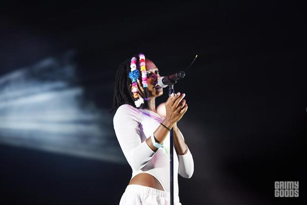 Kelela at FYF 2016 in Exposition Park, Los Angeles