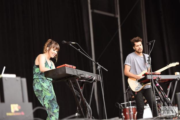 Oh Wonder at Outside Lands Music Festival photos