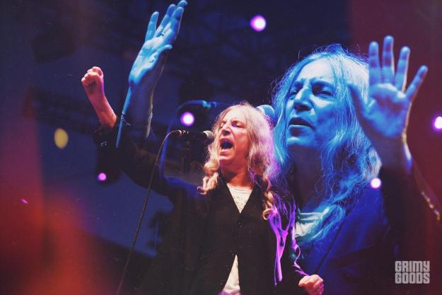 Patti Smith at Beach Goth 2016