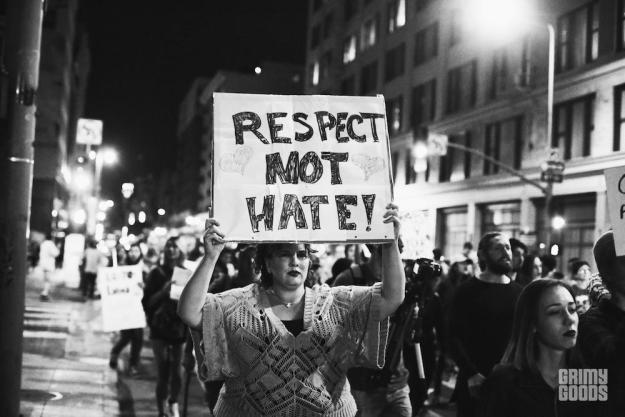 Los Angeles Anti-Trump Elections Protest